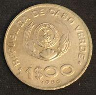 CAP VERT - CABO VERDE - 1 ESCUDO 1980 - KM 17 - FAO - Cap Verde