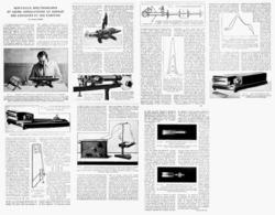 NOUVEAUX SPECTROSCOPES APPLICATIONS Au DOSAGE Des COULEURS Et Des PARFUMS  1922 - Ciencia & Tecnología