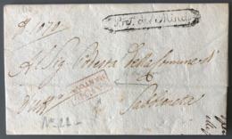 Italie, Lettre (LAC) 1810 - Griffe Pref. Del Mincio + V.D.I MANTOVA - TB - (C1235) - ...-1850 Voorfilatelie