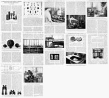 """LA REALISATION D'UNE JUMELLE à PRISME """" ETABLISSEMENTS JULES HUET Et Cie """" 1922 - Ciencia & Tecnología"""