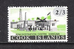 Cook Isl. - 1966. Centro Amministratico Dell' Isola. Administration Center. Ovpt. MNH - Altri