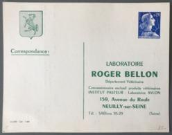 France Entier Muller 0,20c. Bleu CP1 - Repiquage ROGER BELLON - (C1239) - Entiers Postaux