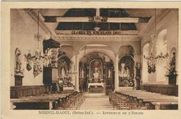 SEINE-MARITIME : Mesnil-Raoul, Intyerieur De L'Eglise - Autres Communes