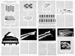 LES PIANOS à DEUX CLAVIERS 1922 - Música & Instrumentos