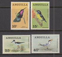 BIRDS Vogel Oiseaux 1968 Anguilla Mi 36-39  MNH (**) #21284 - Oiseaux
