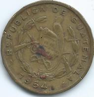 Guatemala - 1 Centavo - 1954 - KM254 - Guatemala