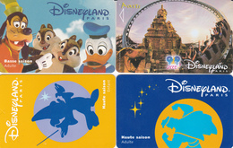 4 Passeports DISNEY - France