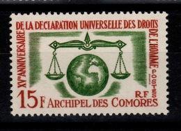 Comores - YV 28 N** Droits De L'homme Cote 11 Euros - Comoro Islands (1950-1975)