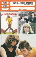 - 1980 - GRANDE-BRETAGNE - COMEDIE. - UNE FILLE POUR GREGORY - 052 - Autres