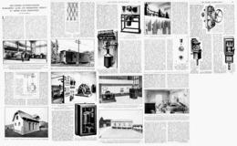 LES USINES AUTOMATIQUES   1922 - Ciencia & Tecnología