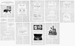 """LE COURANT ELECTRIQUE Décéle LES GISEMENTS METALLIFERES """" DETECTEUR DE METAUX """"   1922 - Ciencia & Tecnología"""