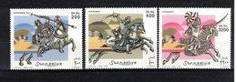 SOMALIE  Timbres  Neufs ** De 1999  ( Ref 6924 )- Animaux - Chevaux - Cavaliers - Somalie (1960-...)