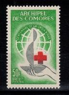 Comores - YV 27 N** Croix Rouge Cote 10 Euros - Comoro Islands (1950-1975)