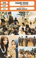- 1972 - HONGRIE  -  DRAME - PSAUME ROUGE  - 057 - Autres