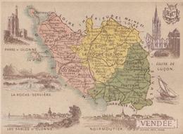 Carte Hachette Du Département De La Vendée - Non Classificati