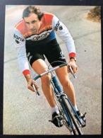 Bernard Quilfen - Gitane 1976 - Carte / Card - Cyclists - Cyclisme - Ciclismo -wielrennen - Cyclisme