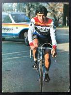 Hubert Arbes - Gitane 1976 - Carte / Card - Cyclists - Cyclisme - Ciclismo -wielrennen - Cyclisme