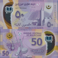Mauretanien Pick-Nr: 22 Bankfrisch 2017 50 Ouguiya - Mauritania
