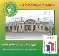 FRANCE - Bloc FFAP - N° 2 - Année 2008  - Grand Palais - Neuf** - FFAP