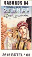 FERRANDEZ : Billet Salon BD ORANGE 1994 - Livres, BD, Revues