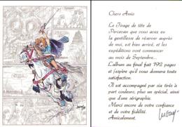 LUGUY : Carte Annonce Tirage De Tete PERCEVAN - Livres, BD, Revues