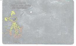 MARSUPILAMI : Carte Publicite BIOSTIM ( Couleur Metallisée Avec Dessin Du Marsu ) - Livres, BD, Revues