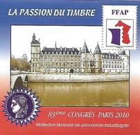 FRANCE - Bloc FFAP - N° 4 - Année 2010  Conciergerie - Neuf** - FFAP