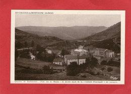 St-CIRGUES-en-MONTAGNE -Quartier De Barbeneuve - Pont Sur Le Mazan  Colonie La Proveçale -1943 - - Otros Municipios