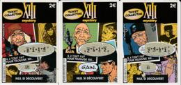 MEYER XIII MYSTERY La Mangouste : 3 Ticket FDJ (utilisées) - XIII