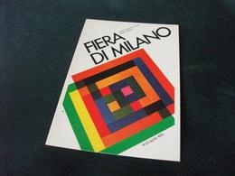 SERIE DI MANIFESTI PUBBLICITARI PUBBLICATI DALL'E.A. FIERA DI MILANO POST BELLICO ANNO 1979 STUDIO CBC - Advertising