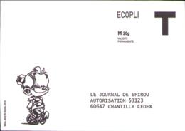 SPIROU : Enveloppe JOURNAL DE SPIROU - Livres, BD, Revues