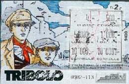 STALNER : Ticket TRIBOLO (utilisée) - Livres, BD, Revues