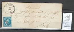 France - Lettre -GC 1916 - LAFFREY En Isére- 1871 - Marcophilie (Lettres)