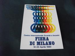 SERIE DI MANIFESTI PUBBLICITARI PUBBLICATI DALL'E.A. FIERA DI MILANO POST BELLICO ANNO 1980 C CREMONESI - Advertising