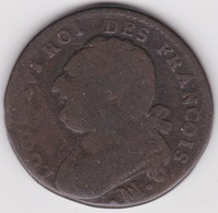 FRANCE, 12 Deniers 1791 Marseille - 1789-1795 Period: Revolution