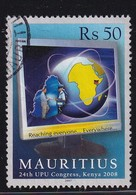 Mauritius 2007, 50 Rupees, Minr 1044, Vfu. Cv 3,60 Euro - Maurice (1968-...)