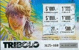 VINK : Ticket TRIBOLO (utilisée) - Livres, BD, Revues
