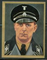 WW II Zigaretten Sammelbild 6,2 X 4,8 Cm , Wer Führt Das 3. Reich ? , Nr. 152: Werner Lorenz, Totenkopf , SS Gruppenfü - Cartas