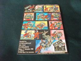 RASSEGNA INTERNAZIONALE DEL FILM D'ANIMAZIONE ROMA  1986 - Expositions