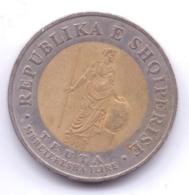 ALBANIA 2000: 100 Leke, KM 80 - Albania