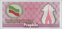 Tatarstan Pick-Nr: 5b Bankfrisch 1991 100 Rubles - Tatarstan