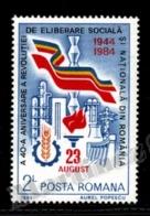 Romania - Roumanie 1984 Yvert 3527, 40th Ann. Liberation - MNH - Neufs