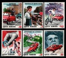 Romania - Roumanie 1987 Yvert 3775-80, Road Safety - MNH - Neufs