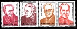 Romania - Roumanie 1996 Yvert 4361B-61E, Famous Figures - MNH - Neufs