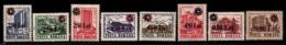 Romania - Roumanie 1997 Yvert 4396-403, Definitive Set, Hotstels & Hotels- 1991 Overprinted - MNH - Neufs