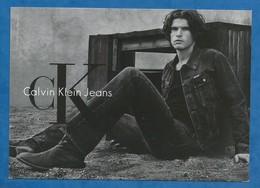 CPM Publicité Mode Homme Calvin Klein Jeans Via Roma Torino Citrus - Moda