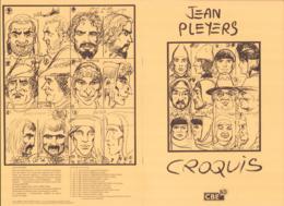 PLEYERS : Carnet De Croquis CBE BD (ns) - Livres, BD, Revues