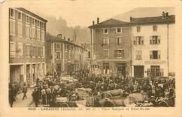 LAMASTRE  Place Rampon Et Hotel Roche - Autres Communes