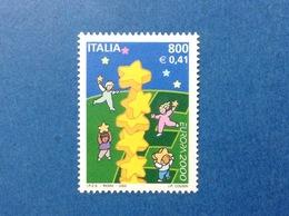 2000 ITALIA EUROPA FRANCOBOLLO NUOVO ITALY STAMP NEW MNH** - 6. 1946-.. Repubblica