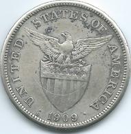 Philippines - US Administration - 1909 - 1 Peso - KM172 - Philippines